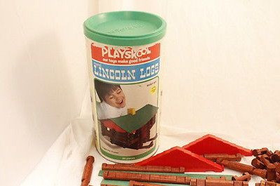 lincoln-logs-vintage-1977-playskool-scout-set-856-original-75-pieces-free-ship-c0df4cdf82a4cd27de941b006d55a2cd
